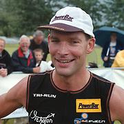 Frank Heldoorn winnaar huizer Triathlon 2001