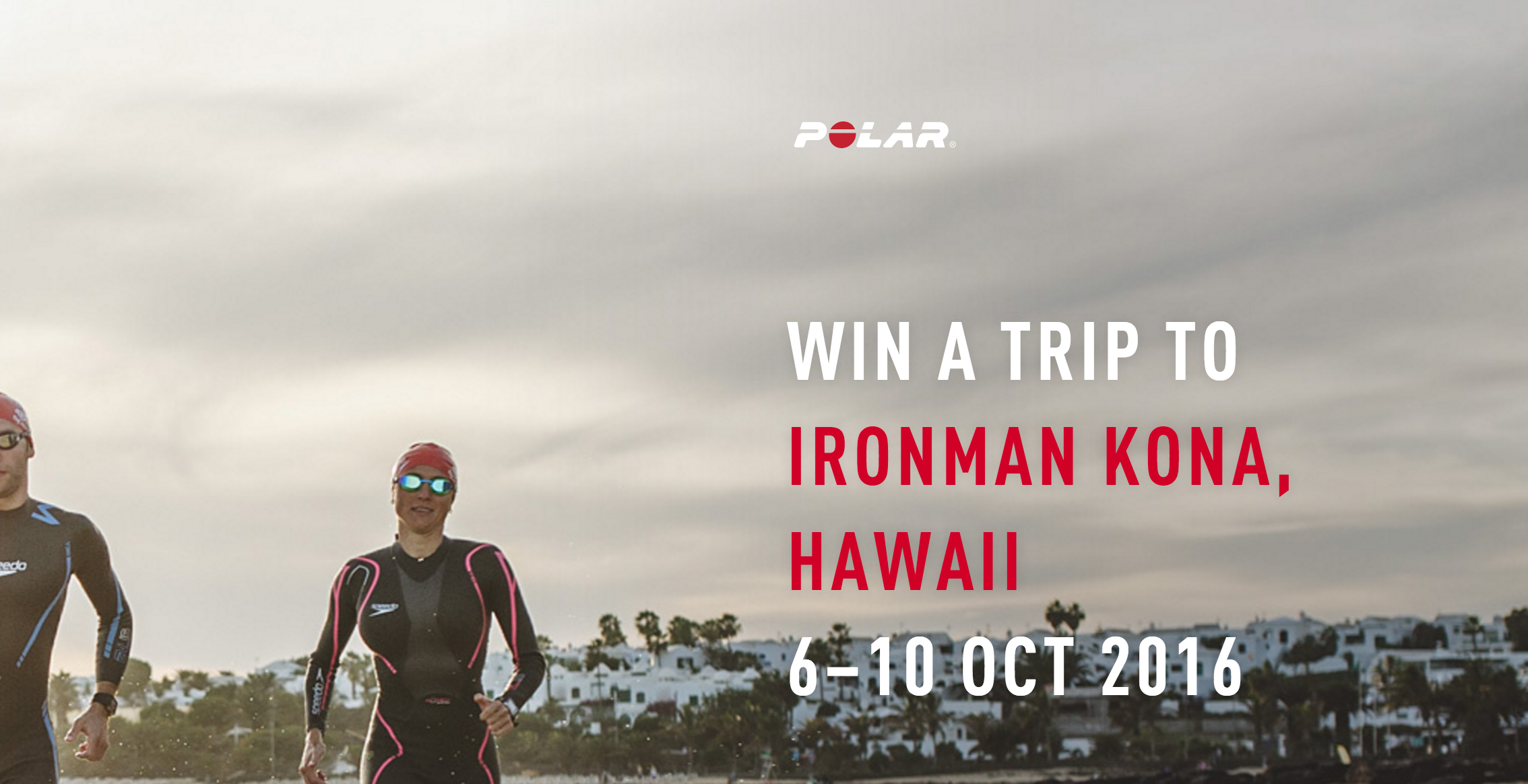 60 Seconds to Kona   Win a trip to see Ironman Kona   Polar Global