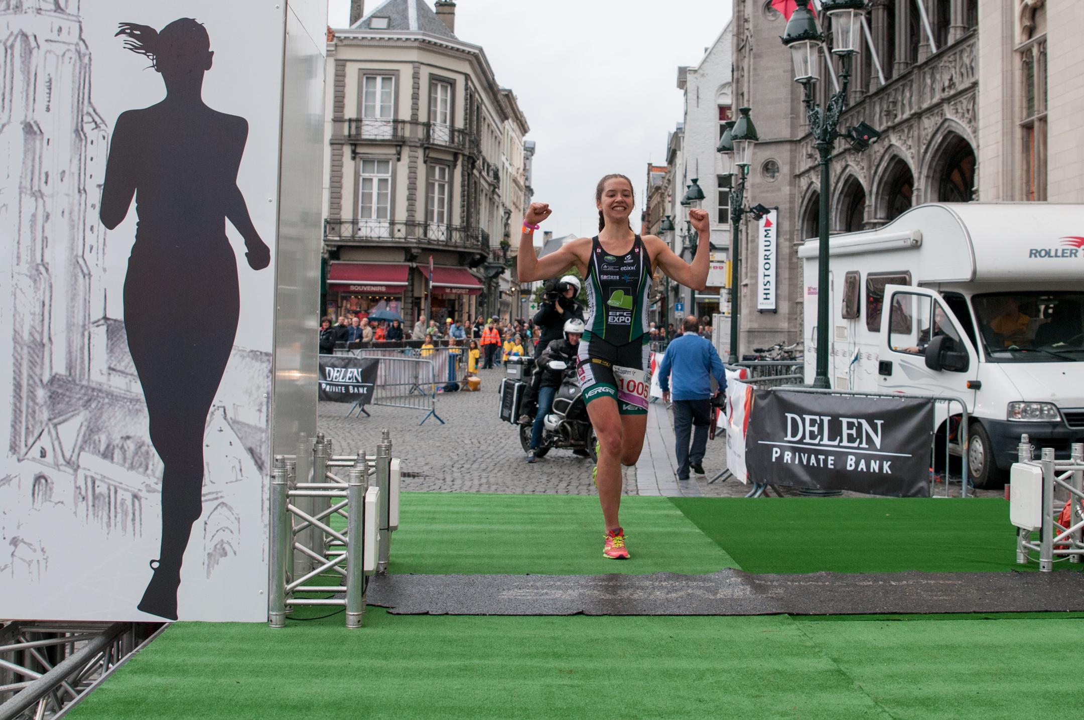 Brugge 2016 Ine Couckuyt finish