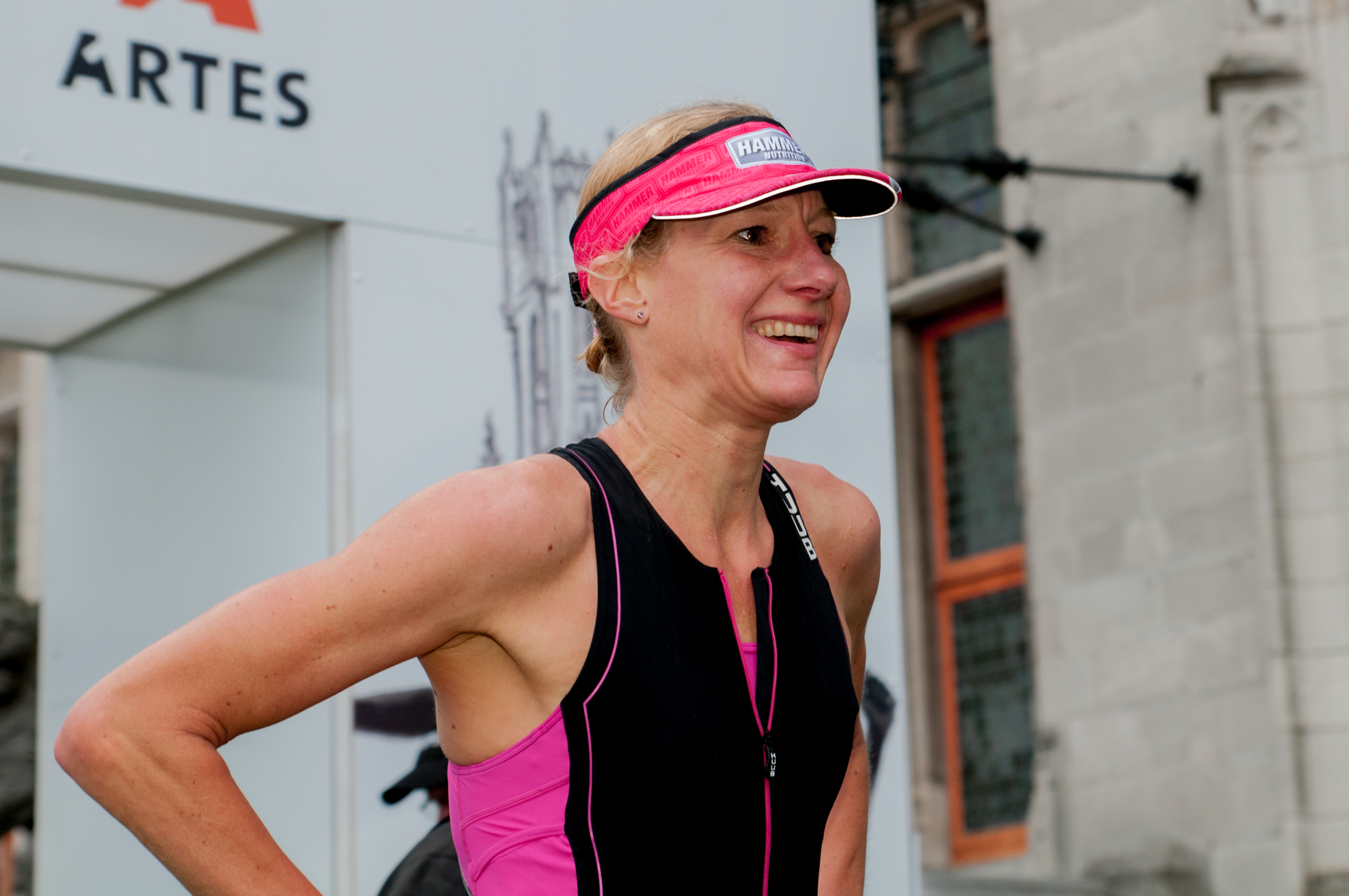 Brugge 2016 Sandra Wassink-Hitzert finish