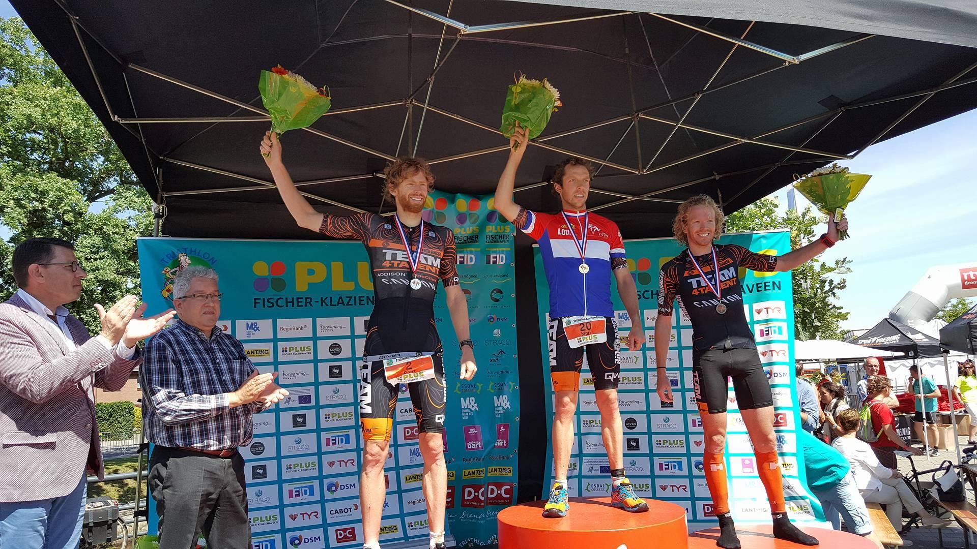 Klazienaveen 2016 podium