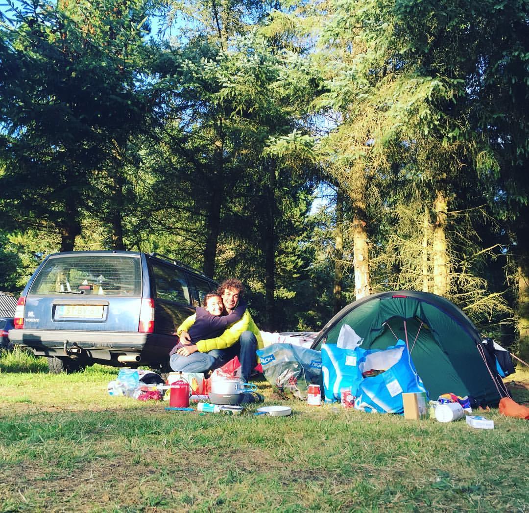 Candel kamperen