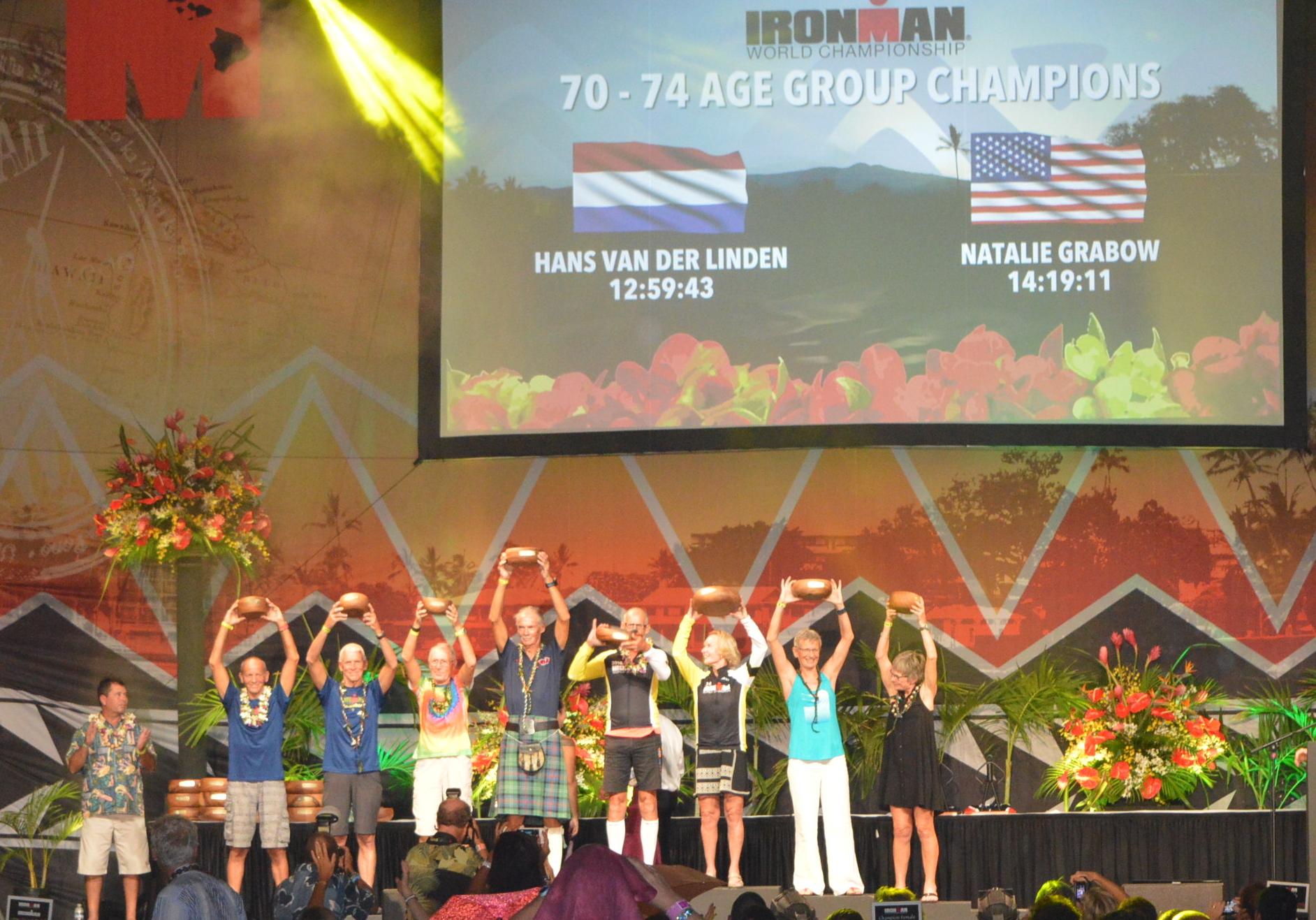 Hans Van Der Linden wereldkampioen Hawaii 2016