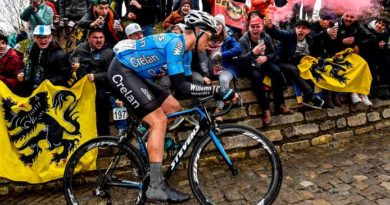 Alexander Hulleman; Sterven op de fiets