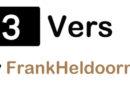 Trivers 14; Frank Heldoorn – Het leed dat marathon heet……(deel 3)