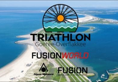 Actie bij Triathlon Goeree-Overflakkee en nieuwe partner Fusion