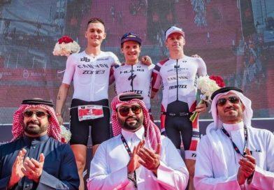 Wereldbesttijden Kristian Blummenfelt, Holly Lawrence in Bahrain; jongste podium Taupo –  WTJ 1386